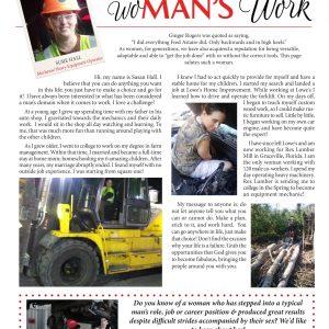 womans work